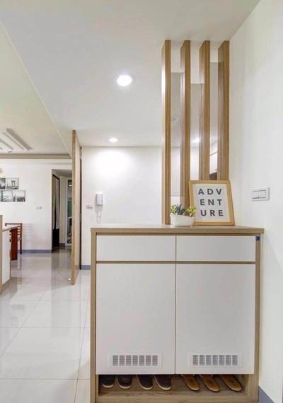重庆不同款式鞋柜设计效果图装修设计案例