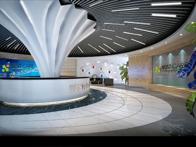 青岛办公室装修装修设计案例