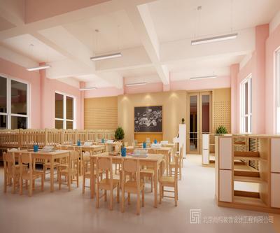 北京北大幼儿园装修设计案例