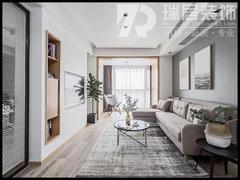 [瑞居装饰]柏庄香府109平现代风格装修效果图案例