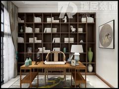 [瑞居装饰]长江之歌138平中式风格装修效果图案例