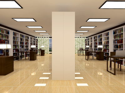 无锡图书馆装修设计案例