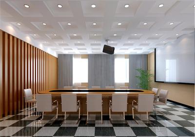 无锡会议室装修设计案例