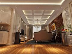 荣盛南亚郦都欧式风格装修案例
