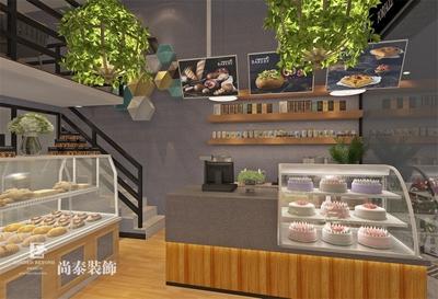 广州法爵面包店装修装修设计案例