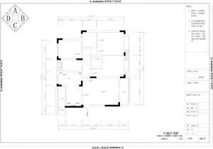 玉溪萬裕潤園三室兩廳裝修設計案例