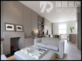 [瑞居装饰]新华联梦想城137平现代风格装修效果图案例