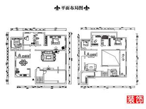 濰坊260㎡現代簡約裝修效果圖