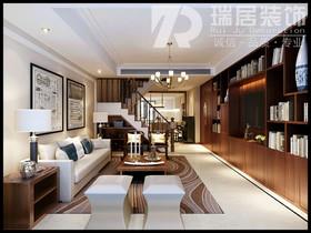 [瑞居装饰]信达翡丽世家161平现代风格装修效果图案例