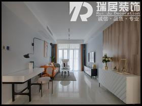 [瑞居装饰]左岸生活95平现代简约风格装修效果图案例