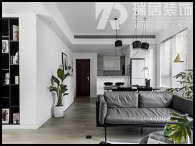 [瑞居装饰]皖新春江明月122平现代简约风格装修效果图案例