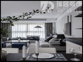 [瑞居装饰]金浩仁和天地87平现代简约风格装修效果图案例
