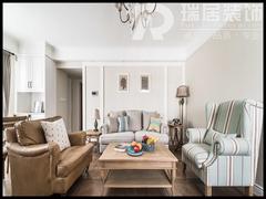 [瑞居装饰]伟星公园天下150平美式风格装修效果图案例