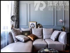 [瑞居装饰]伟星芜湖院子118平欧式风格装修效果图案例
