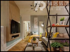[瑞居装饰]皖江壹号院139平欧式风格装修效果图案例