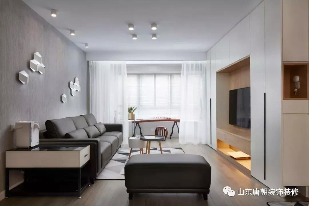 时代·华侨城现代简约装修效果图实景图