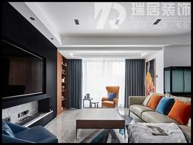 [瑞居装饰]华仑港湾89平现代风格装修效果图案例