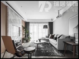 [瑞居装饰]长江之歌二期天誉126平简约风格装修效果图案例
