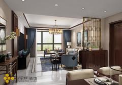 中交国际中式风格装修案例