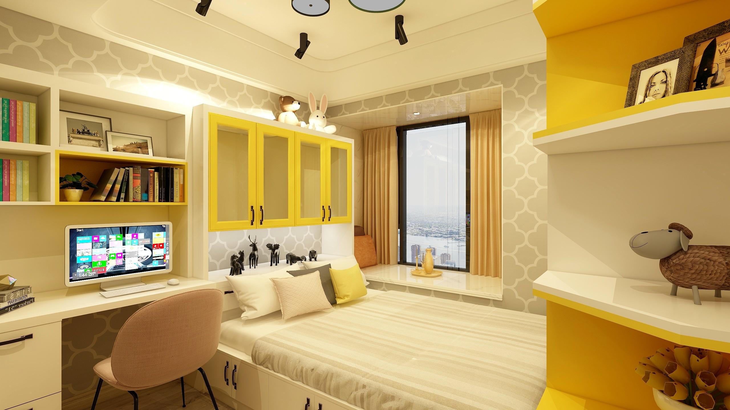 大汉龙城现代简约装修效果图实景图