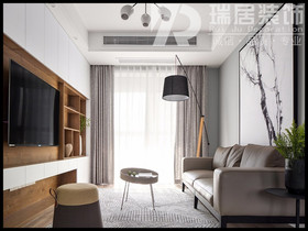 [瑞居装饰]东方龙城苑采薇136平简约风格装修效果图案例