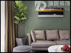 [瑞居装饰]兆通大观园130平现代风格装修效果图案例