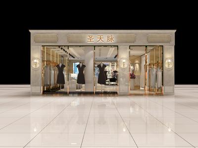 苏州服装店设计装修设计案例
