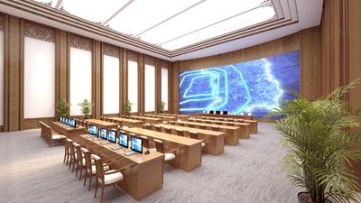 拉萨会议室装修设计案例