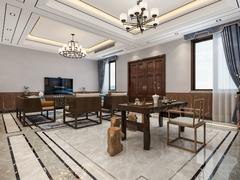 观城私房客厅中式风格装修案例