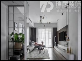 [瑞居装饰]昌建融创凤丹壹号123平美欧式风格装修效果图案例