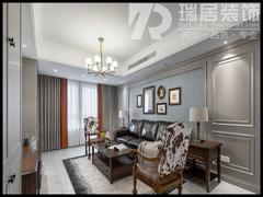 [瑞居装饰]东紫园89平美式风格装修效果图案例
