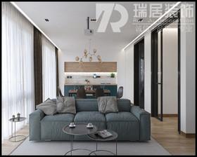 [瑞居装饰]中梁1621江城府119平现代风格装修案例