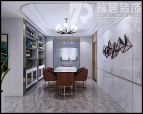 [瑞居装饰]蔚蓝海岸168平现代轻奢风格装饰案例