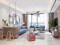 万泰康居家园欧式风格装修案例