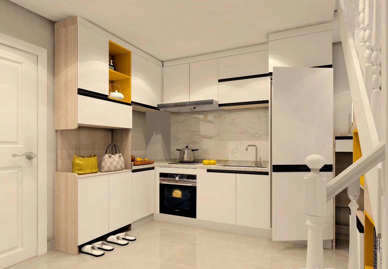 绿城·百合公寓三期装修案例