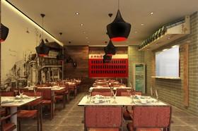 北京长阳半鸟广场餐厅装修设计案例