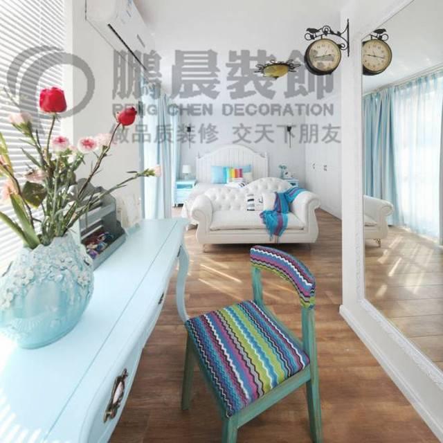 [鹏晨装饰]华强城颐景湾畔藏湖129平现代风格装修效果图