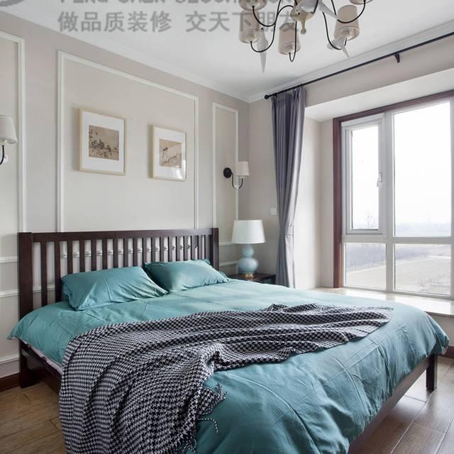 [鹏晨装饰]世茂滨江花园二期141平美式风格装修效果图