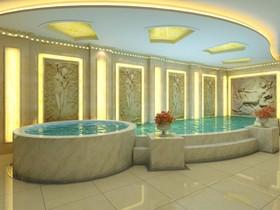 洗浴中心装修设计案例