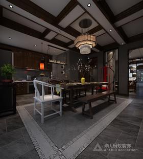 驪山國際小鎮裝修設計案例