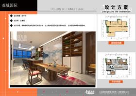 观城国际装修设计案例