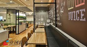 快餐店装修设计案例