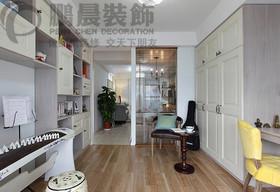 [鵬晨裝飾]新華聯夢想城 78平混搭風格裝修效果圖裝修設計案例
