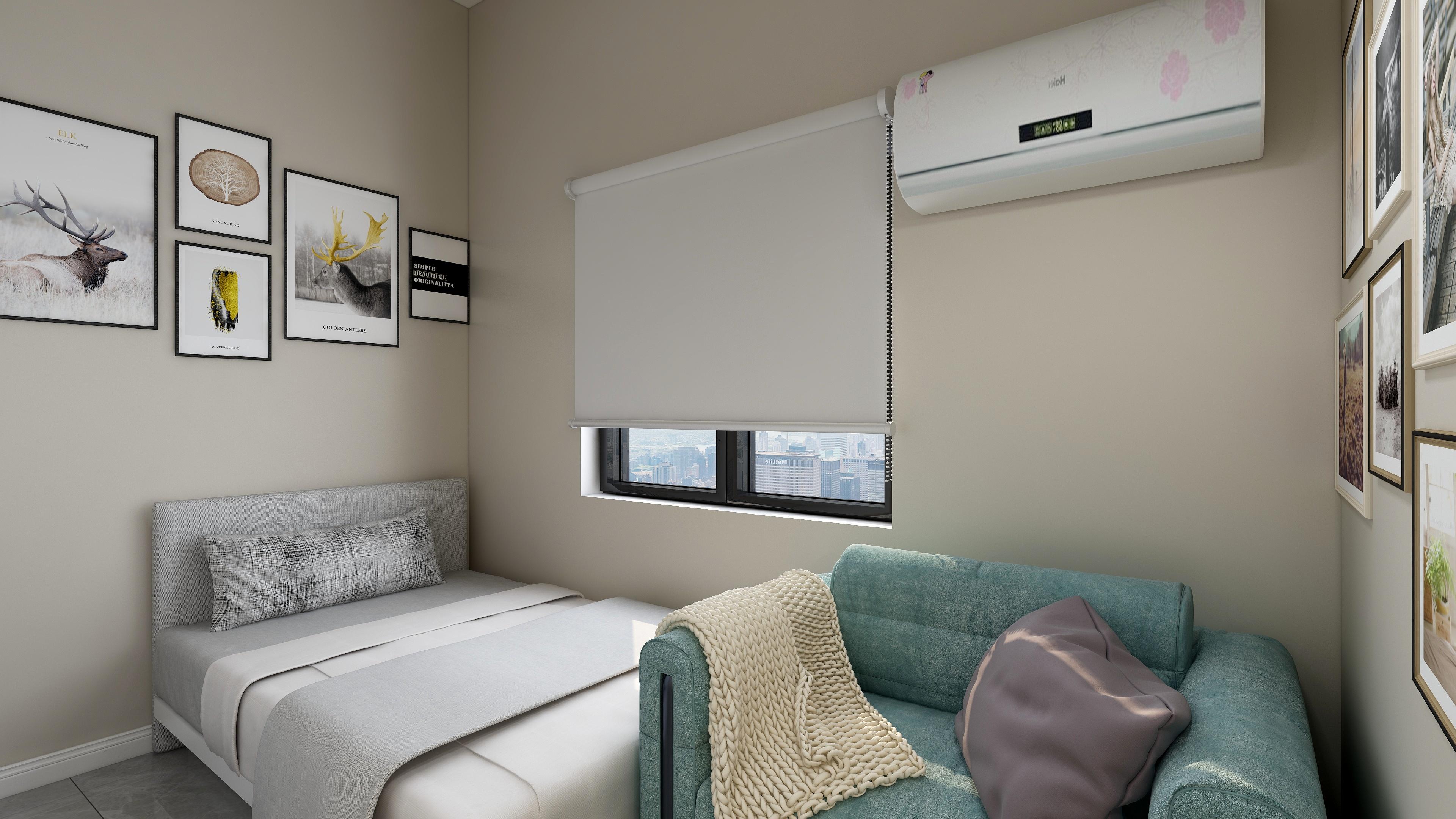 百岁苑单身公寓装修案例