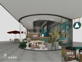 明月珑茶-茶饮店装修设计案例