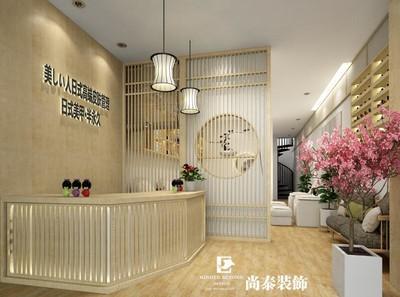 广州美甲店设计装修设计案例