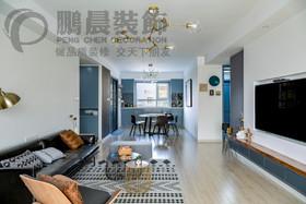[鹏晨装饰]信德悦城102平现代风格 全球最大博彩装修设计案例