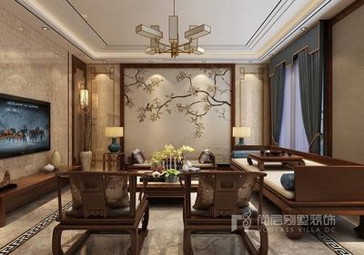 深圳360平米新中式风格装修装修设计案例