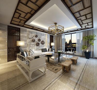 深圳270新中式风格装修装修设计案例