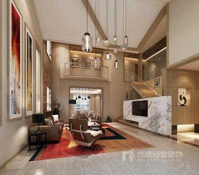 深圳500平米现代简约风格装修装修设计案例
